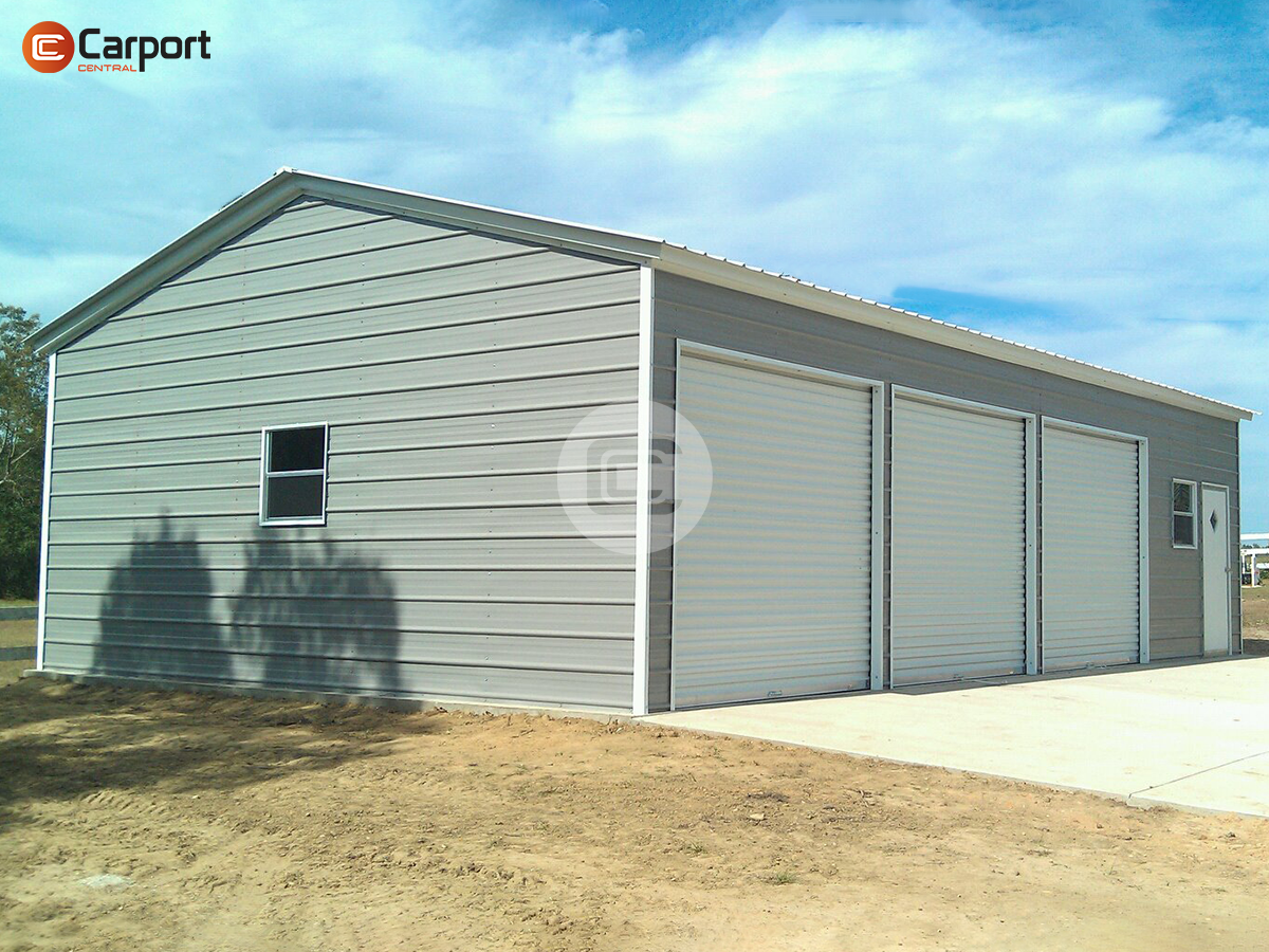 24x36 Side Parking Garage 10 Tall Side Entry Garage Prices Garage Door Design Garage Prices Metal Garage Buildings