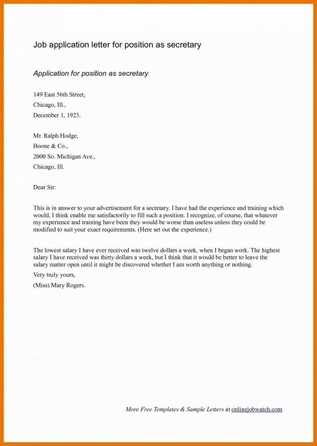 25 Cover Letter Heading Examples For Job