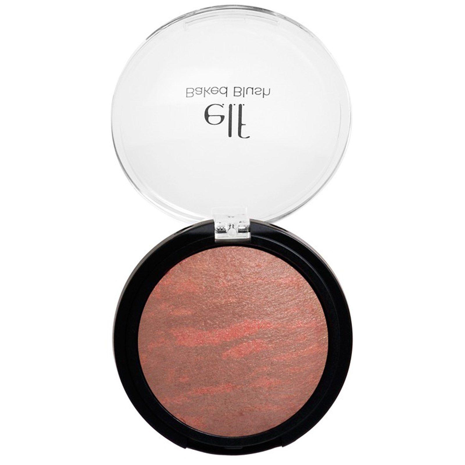 E.L.F. Cosmetics, Baked Blush, Rich Rose, 0.21 oz (6 g) - iHerb.com