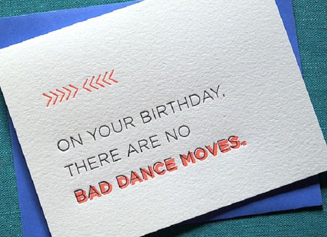 27 Cheeky Letterpress Birthday Cards Youll Love Birthdays Cards