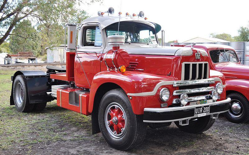 International R200 Kenworth Trucks Old Trucks Big Trucks