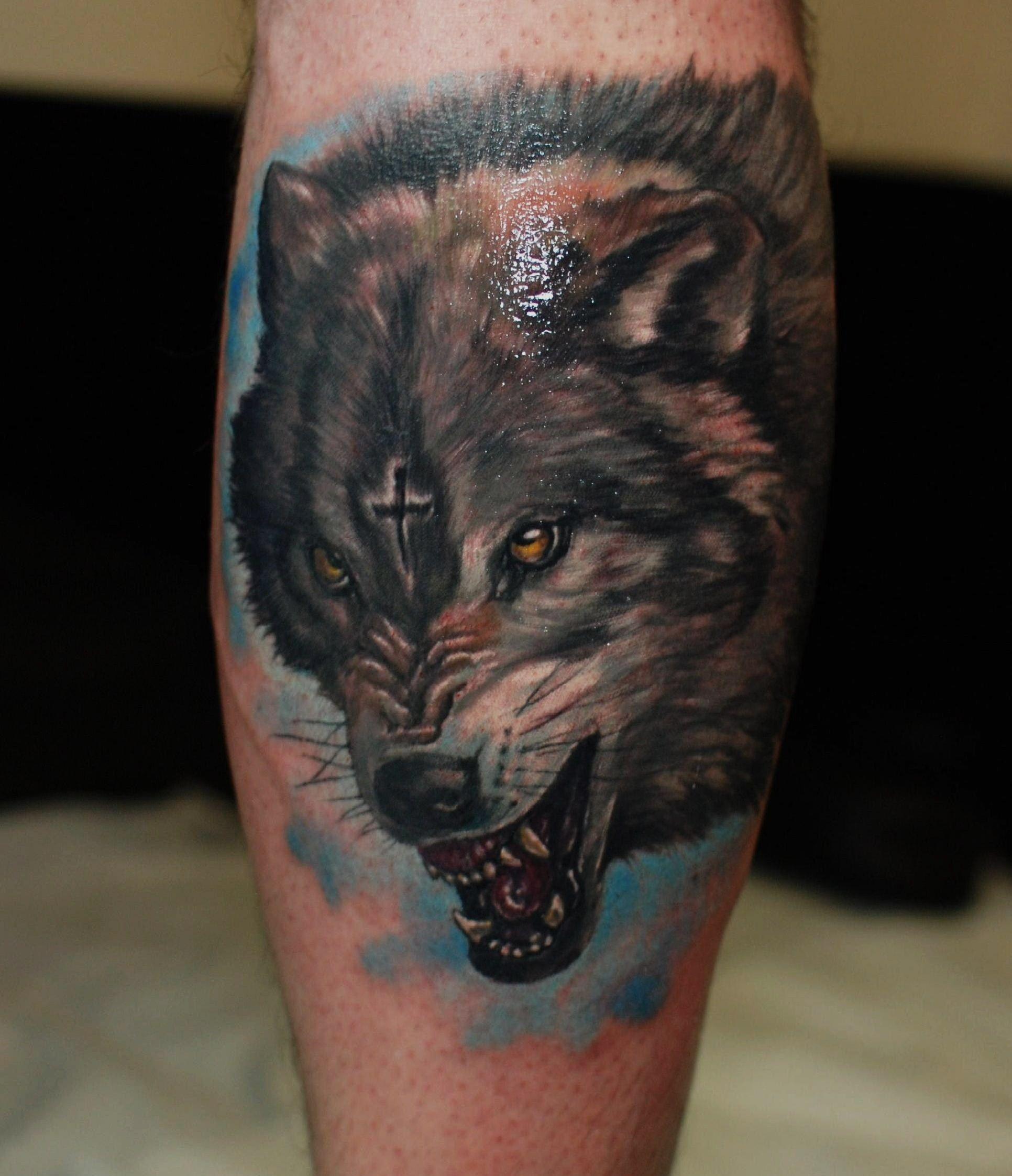 wolf tattoo west london ink hammersmithtattoo