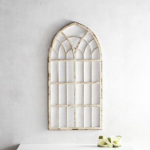 Magnolia Home Metal Cathedral Window Frame Window Frame Decor
