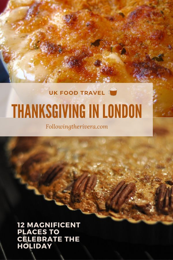 Don't miss out on a traditional #turkey and #pumpkinpie #thanksgiving meal in #london These 12 places are the addresses you need to know. #londontravel #londontravelguide #londontransport #uk #uktravel  #travel #traveltips #traveldestinations #travelideas #travelersnotebook #traveladvice #traveladviceandtips #traveltipsforeveryone #traveladdict #travelawesome #travelholic  #europetravel #europetraveltips #travelguide #foodtravel #foodietravel #foodie #foodiegram #foodiecrush