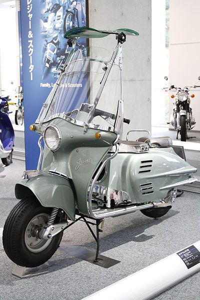 1954 Honda Juno K Japan Hondas First Scooter Featured The First
