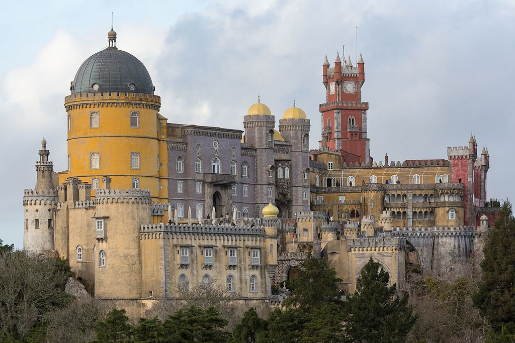 The Pena National Palace: summer residence of the monarchs of Portugal during the 18th-19th century