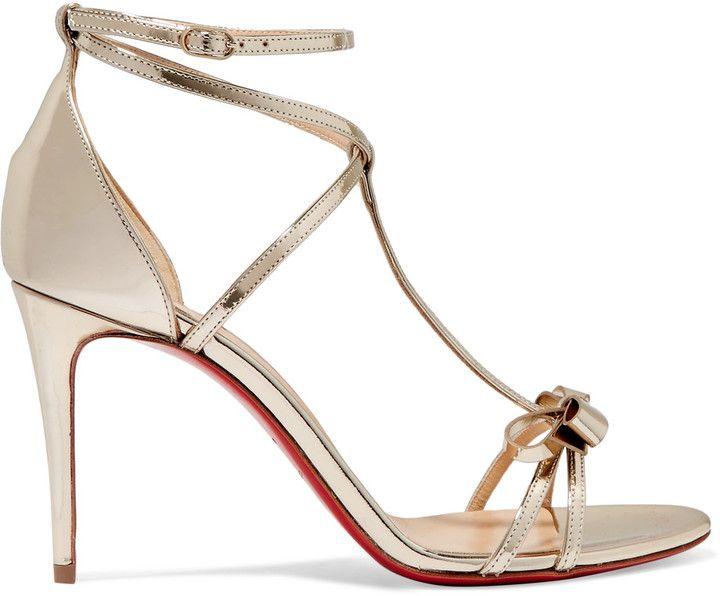site réputé f9aec 71426 Perfect Christian Louboutin heels sandals for a wedding ...