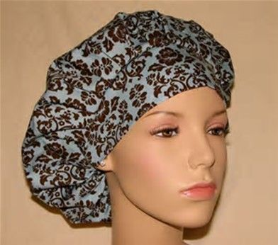 Image Result For Bouffant Surgical Scrub Hat Pattern Free Scrub