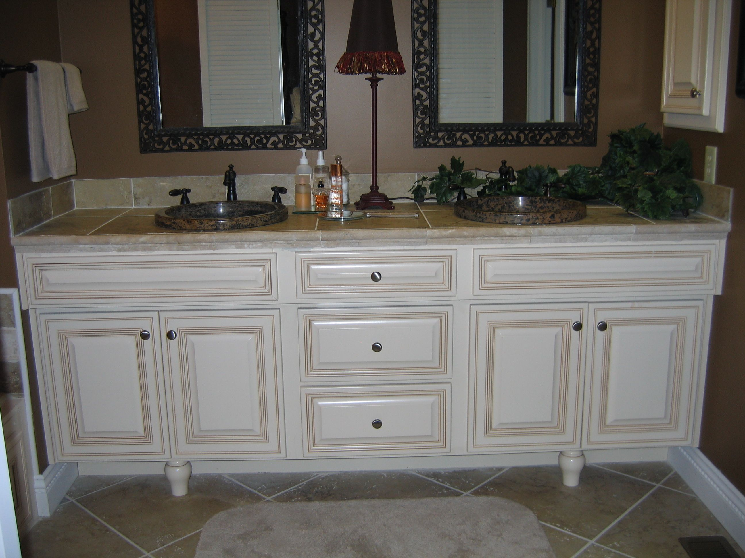 reface biscuit with glaze raised panel doors added feet to vanity kitchen tune up wichita ks 316 558 8888 4057 n woodlawn 1