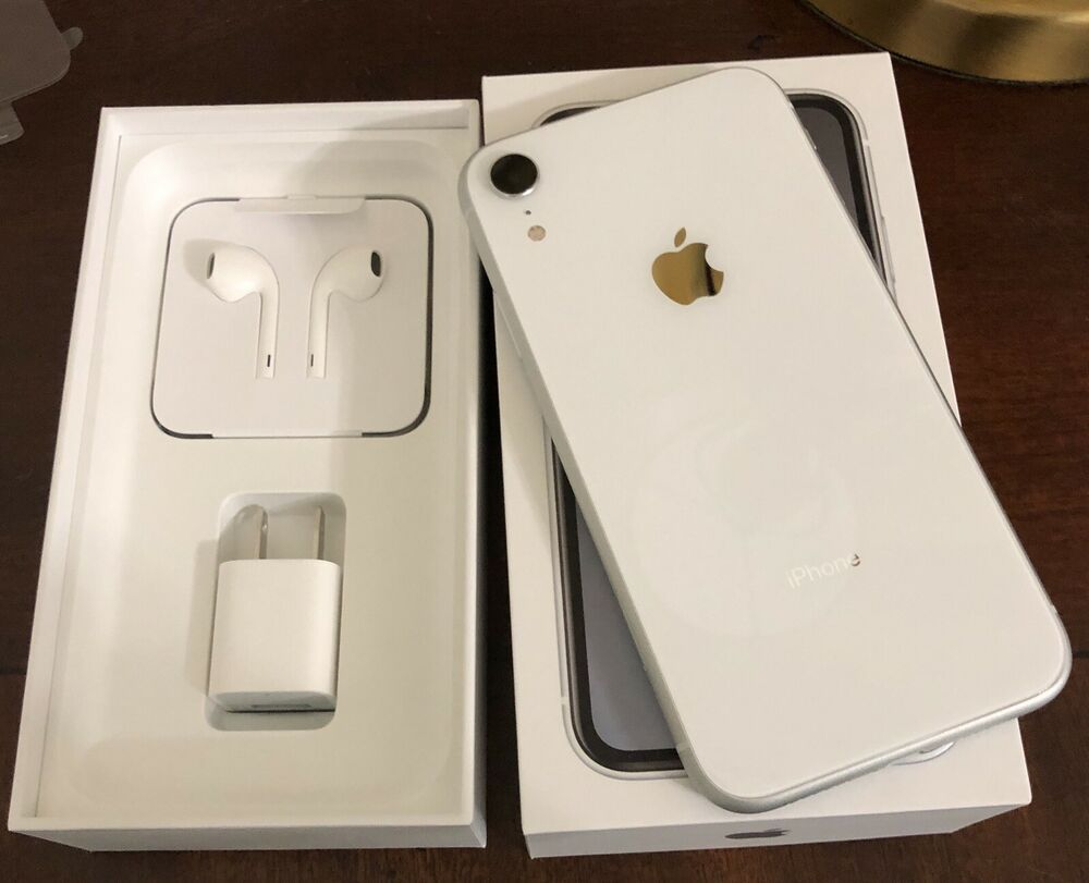 Apple Iphone Xr 128gb White Unlocked Brand New In Box Cdma Gsm Compatible Iphone Apple Iphonex Apple Iphone Iphone Iphone Oled