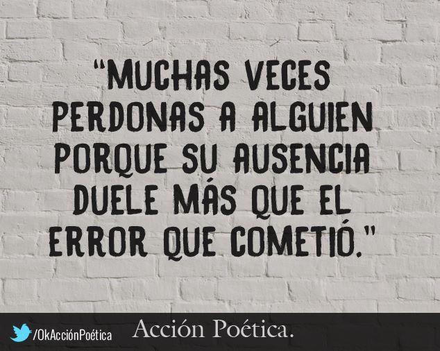 ~Muchas veces perdonas a alguien...~