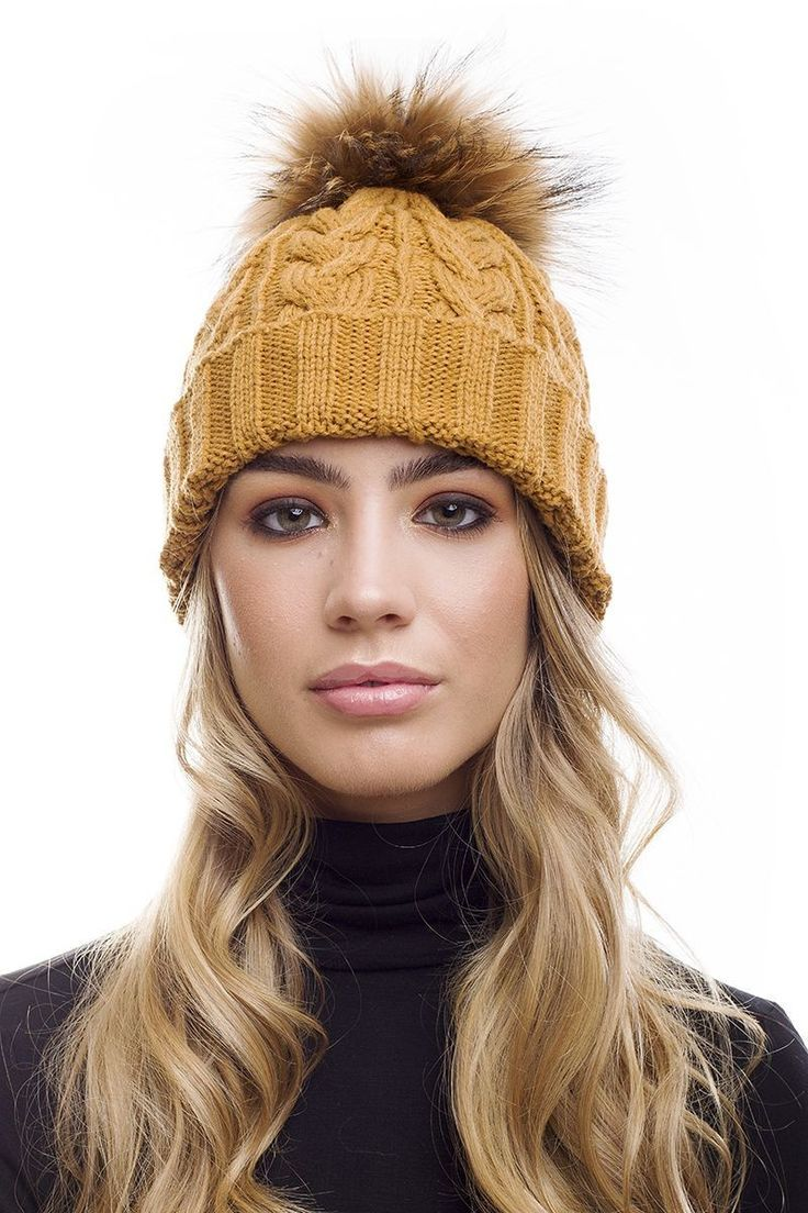 Women s Chunky Thick Winter Knitting Warm Hat 515d0a5a70a