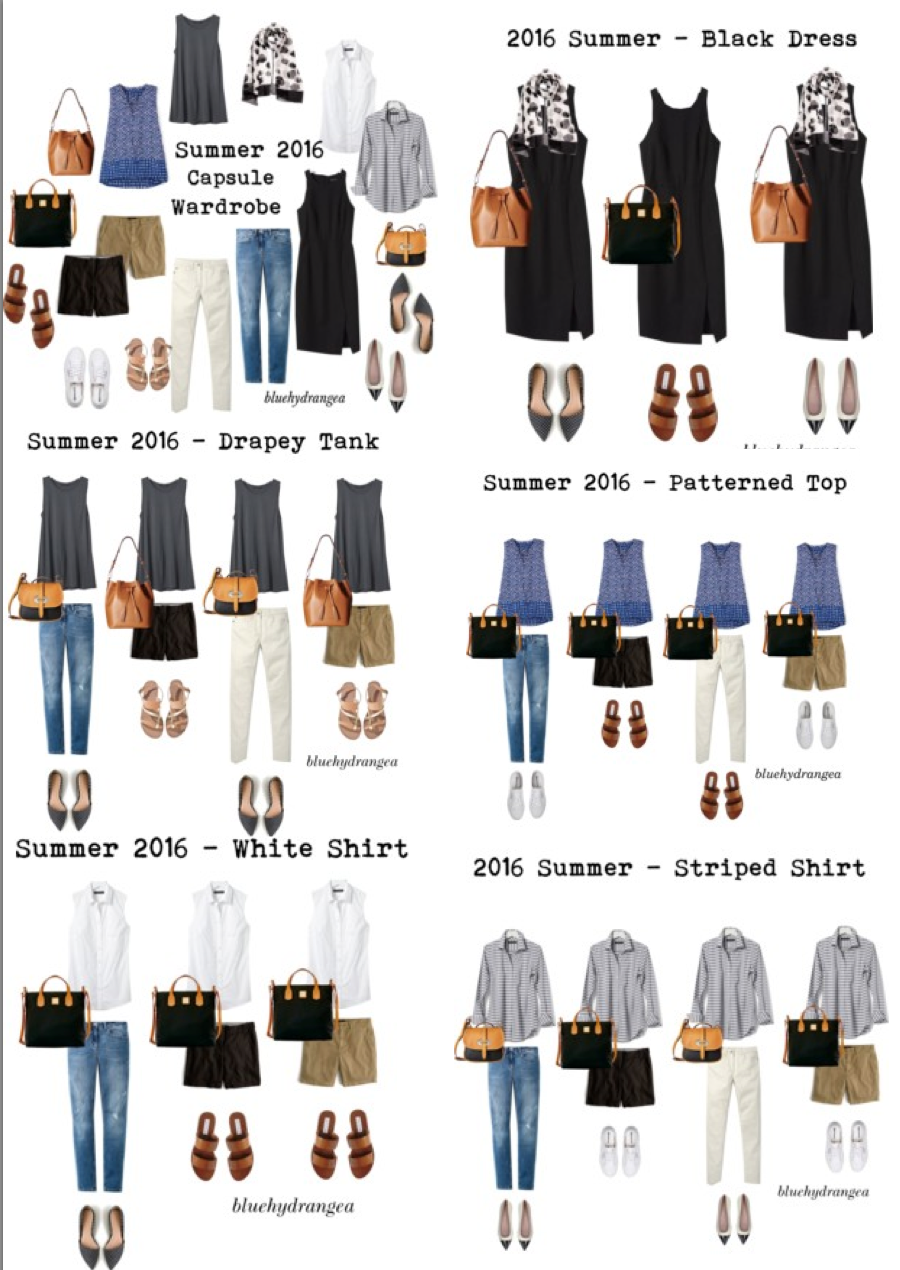 Summer 2016 Capsule Wardrobe By Bluehydrangea On Polyvore