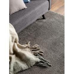 Photo of benuta Essentials Hochflor Shaggyteppich Wisby Grau 120×170 cm – Langflor Teppich für Wohnzimmerbenu