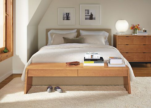 Room Board Wyatt Queen Low Headboard Bed Contemporary Bedroom Contemporary Bedroom Furniture Modern Bedroom Furniture