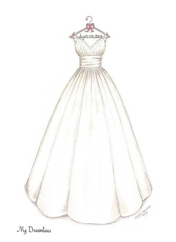 wedding dress sketch gallery drawings sketches and