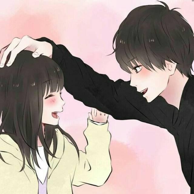Photo of anime couple   Tumblr