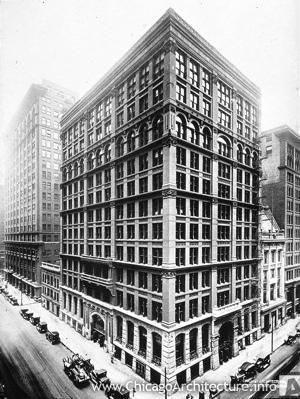 World S First Skyscraper The Home Insurance Building In Chicago
