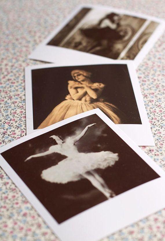 Ballerina Photographs-set of 3.Vintage ballerina photography ...