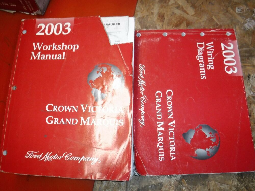 Ebay Sponsored 2003 Ford Crown Victoria Mercury Grand Marquis Factory Service Manuals Wiring Grand Marquis Manual Marquise