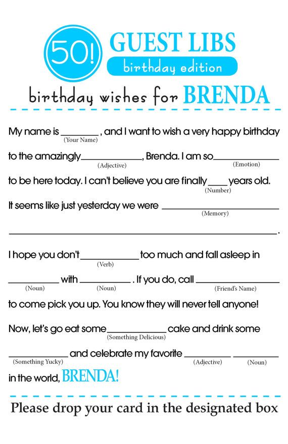 photo relating to Happy Birthday Mad Libs Printable referred to as BIRTHDAY Outrageous LIBS by means of ForMomentsThatMatter upon Etsy Mothers