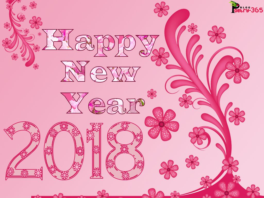 There Are New Year 2018 Image It Is Cute Swirl Flowers Bale In