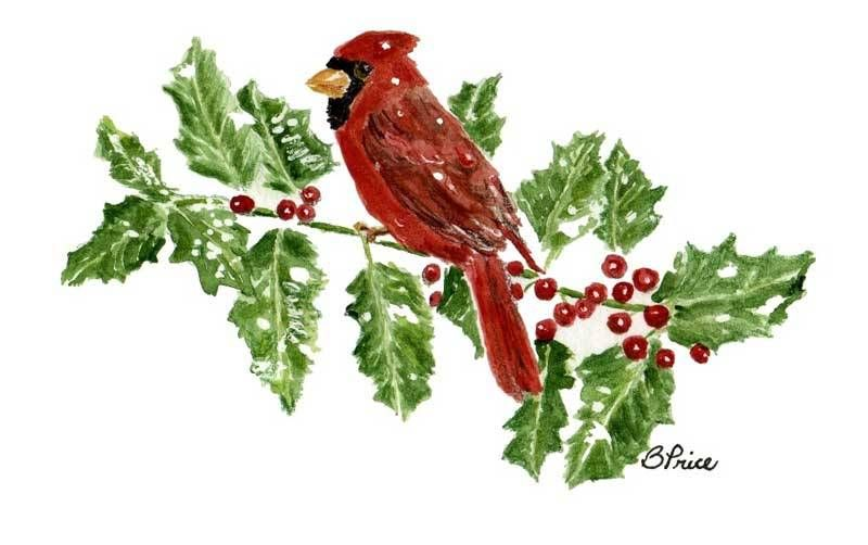 Learn About Your Own Christmas Cards Paintings, Watercolor and