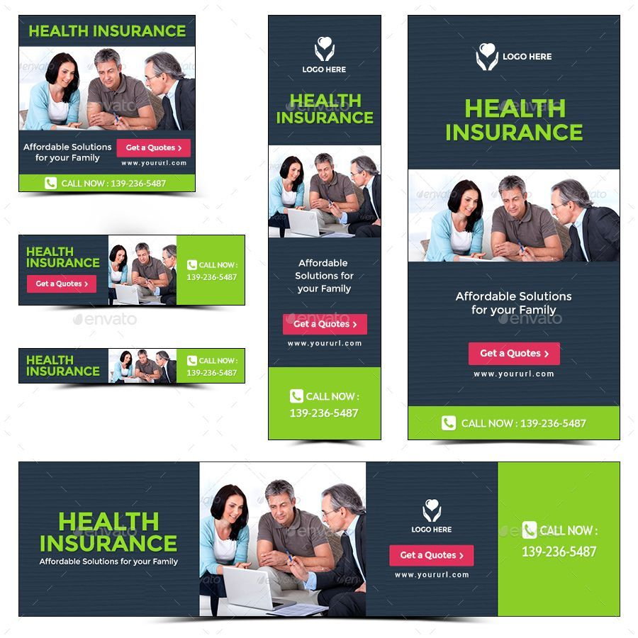Good Images Health Insurance Banners Thoughts in 2020