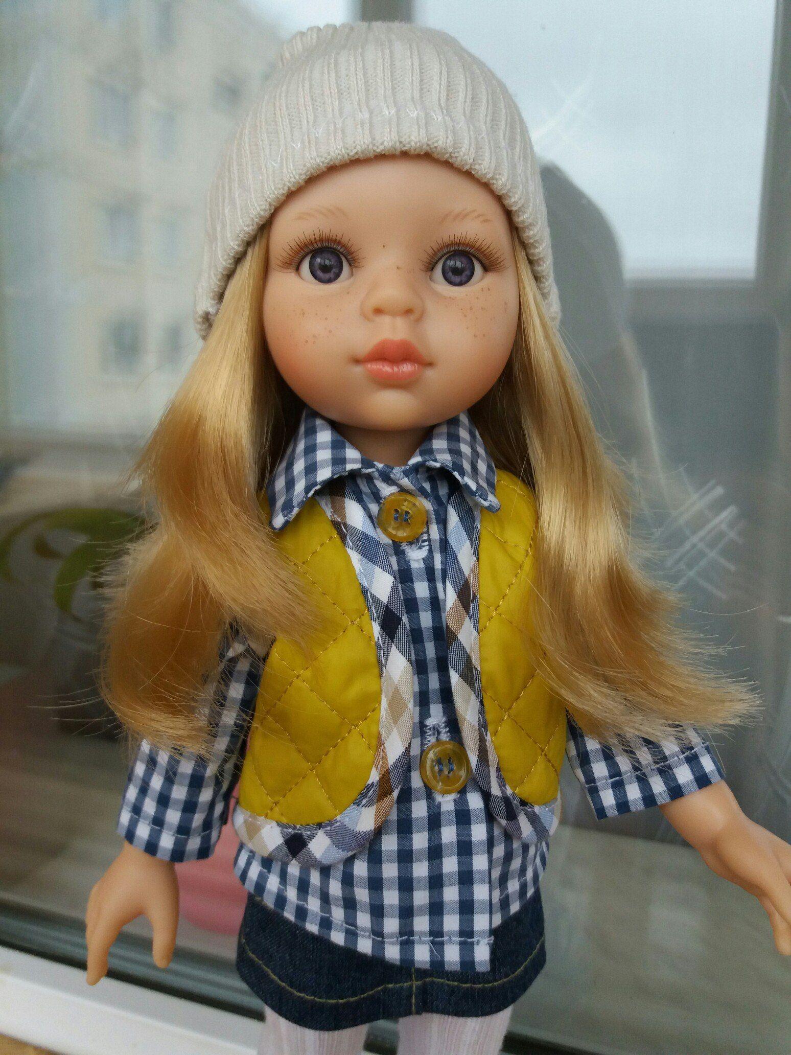 Испанские куклы Paola Reina   Одежда для куколок, Одежда