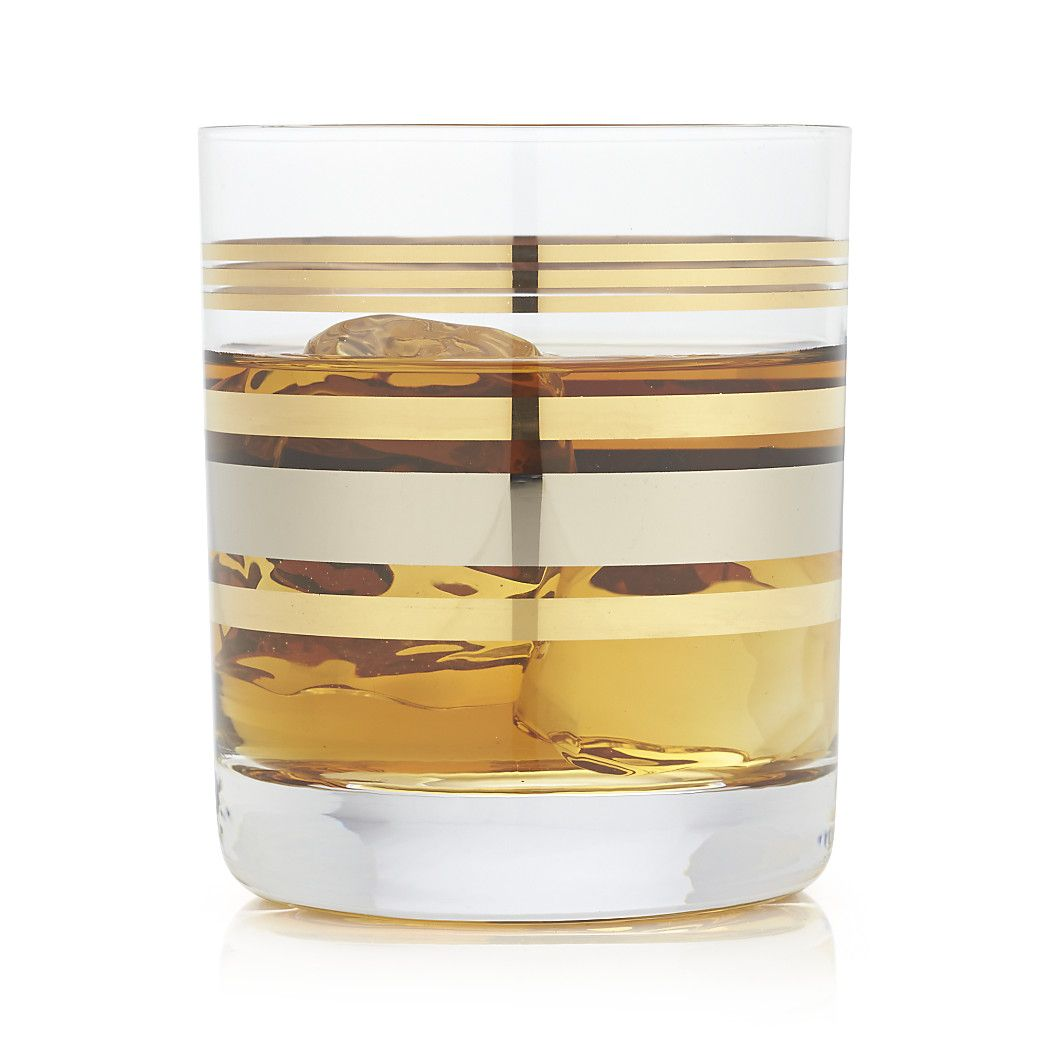 Free Shipping Shop Gala Double Old Fashioned Our Crate And Barrel Exclusive Was Made By The Master Glassmakers Of Krosn Crate And Barrel Old Fashioned Crates