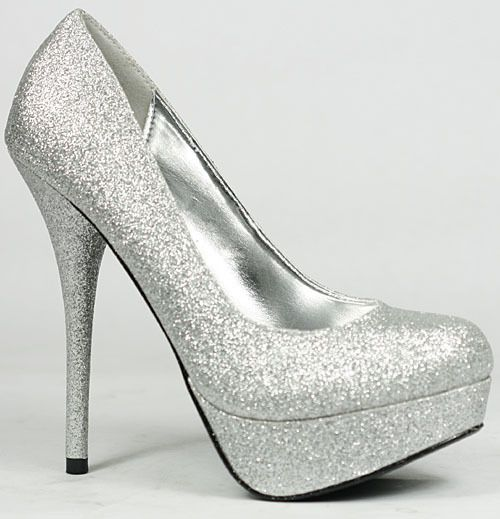 86bb2cf4592 Shoes   silver heels