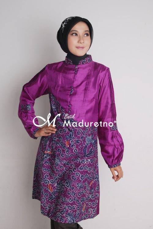 Atasan Batik Tulis Madura  hijabhunt  Pinterest