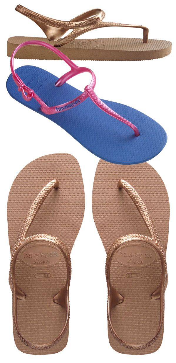 Havaianas lança novas sandálias Luna