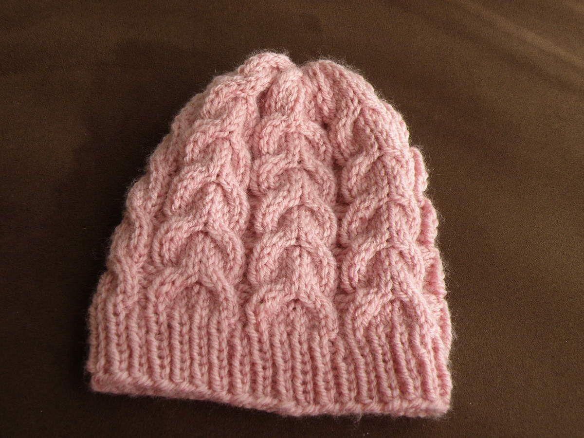 Bonnet torsades bébé 3/6 mois , Mes tricots et astuces