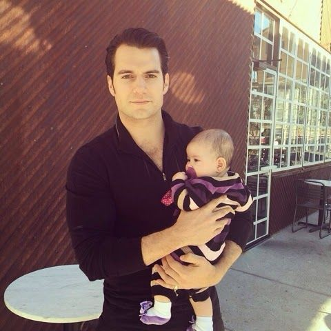 """Henry Cavill News: Super Sweet: """"Ava Very Safe In Superman's Arms"""""""