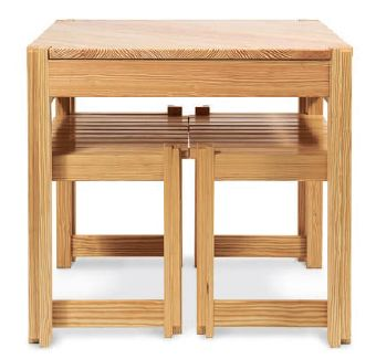 Pine Kitchen Table And Bench Project For Small Es