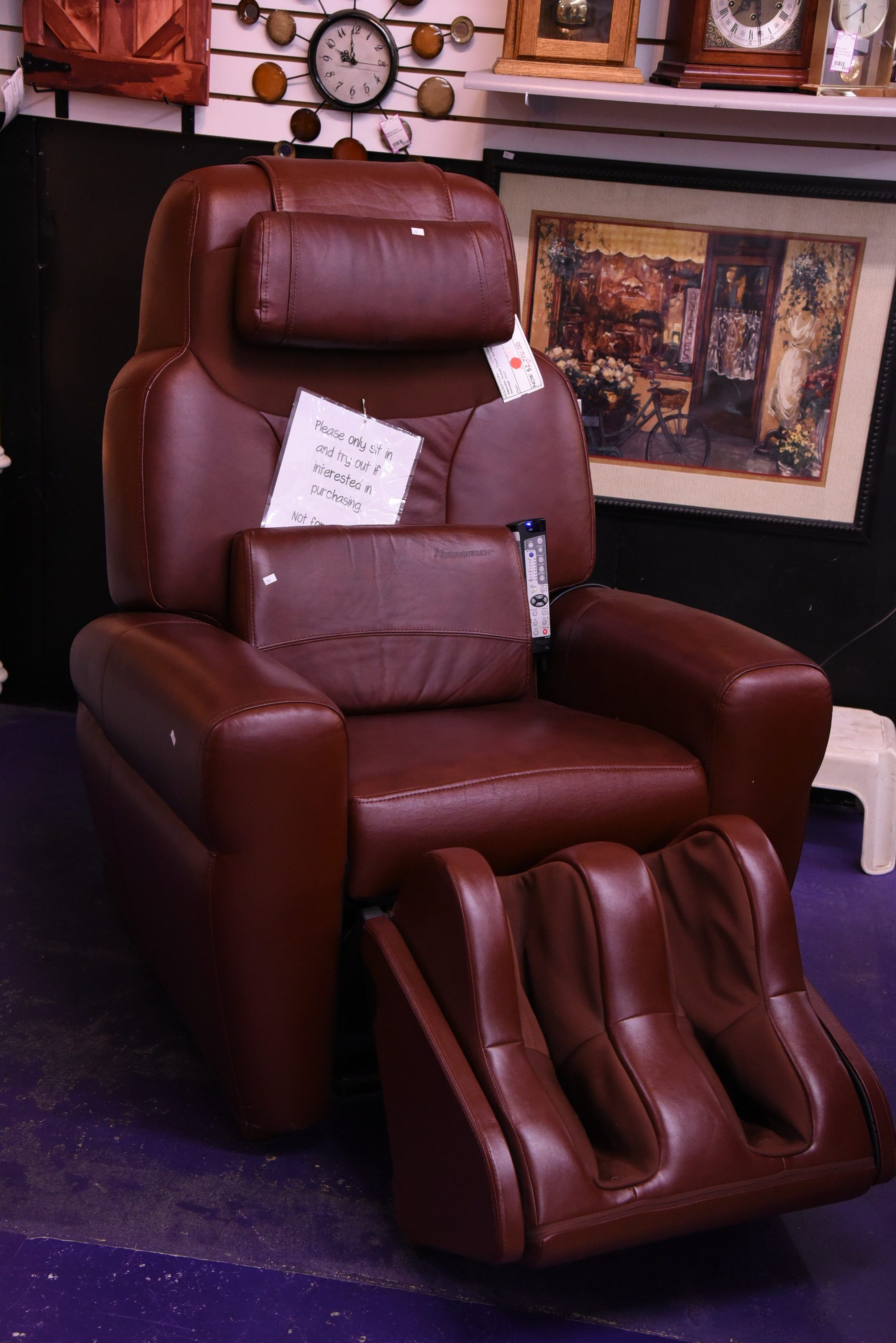 Great gift alert half price human touch massage chair