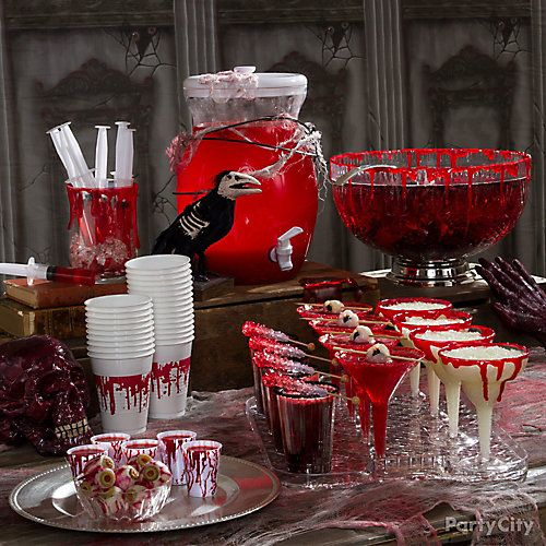 Bloody Good Drink Ideas GOT PARTY Pinterest - halloween party ideas for adults decorations