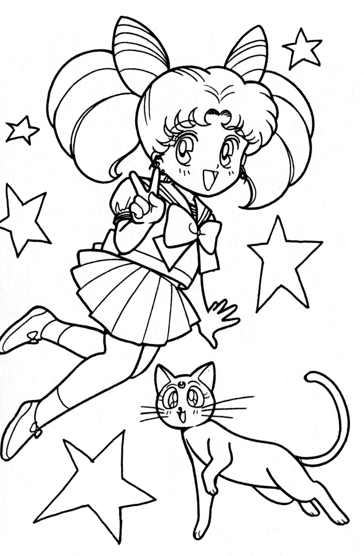 49++ Cute sailor moon coloring pages ideas in 2021