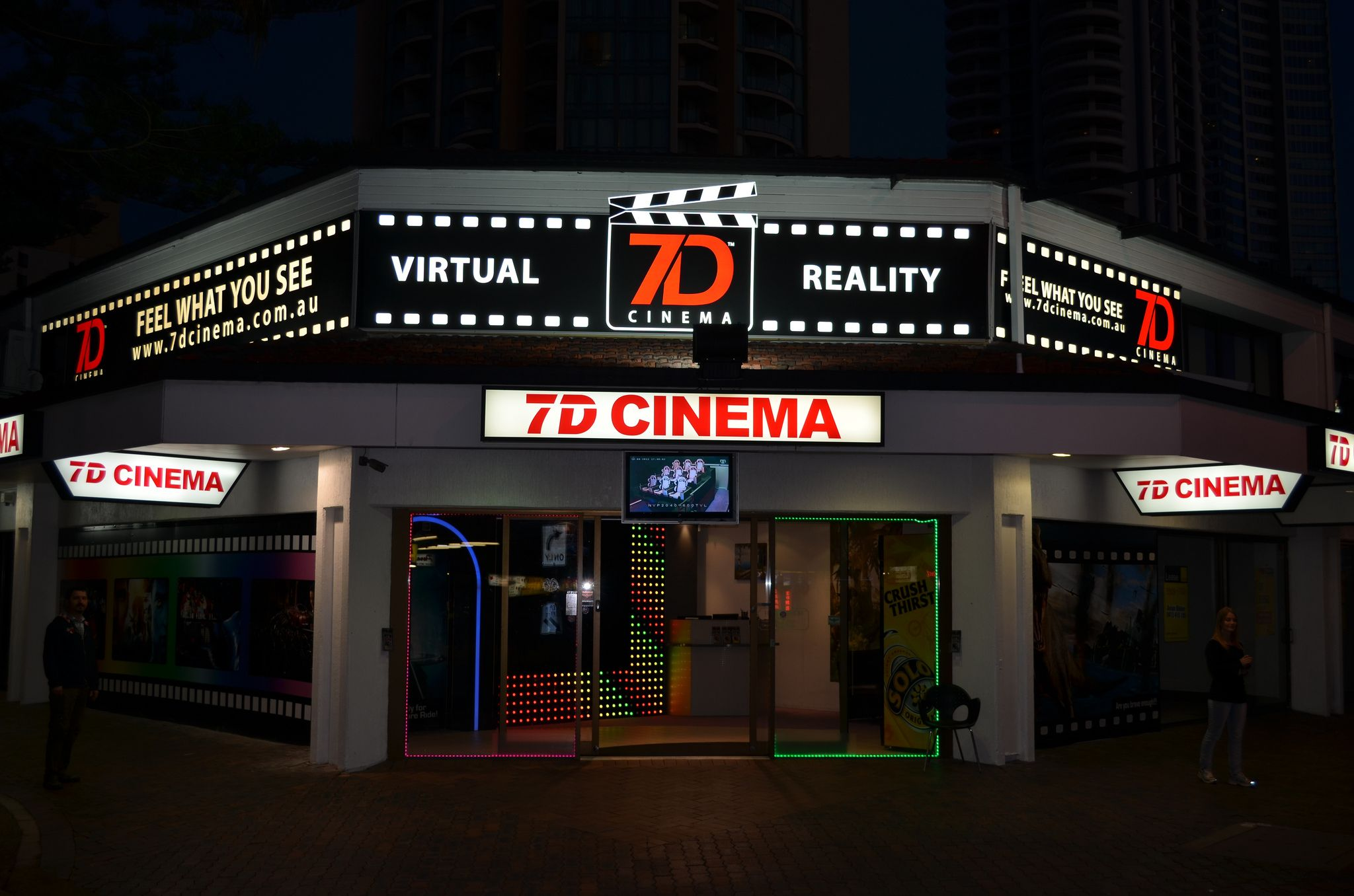we can help you plan the night out first stop 7d cinema in the