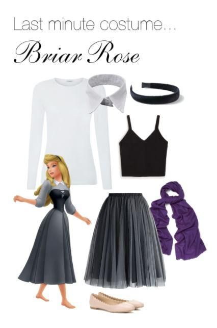 DIY Costume  Briar Rose is part of Disney halloween costumes - light gre