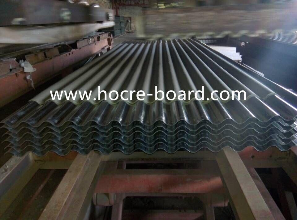 Small Wave Fiber Cement Roof Ghana Market