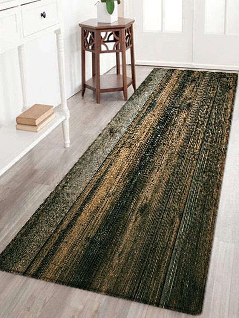 Wooden Floor Pattern Indoor Outdoor Area Rug Wooden Floor