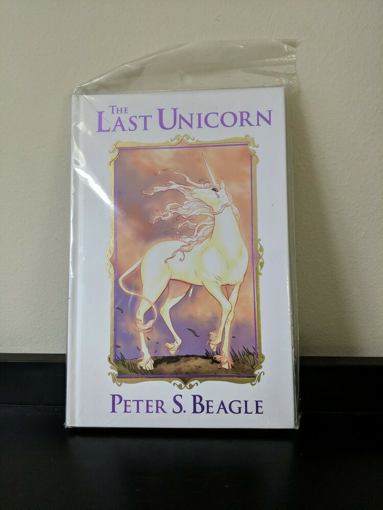 The Last Unicorn Peter S Beagle Hc Graphic Novel Book The Last