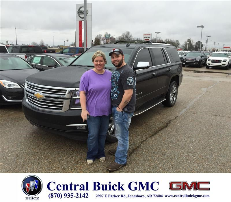 Congratulations To Darren Whitney King On Your Chevrolet Tahoe Purchase From Justin Duckert At Central Buick Gmc Newcar Buick Gmc Buick Gmc