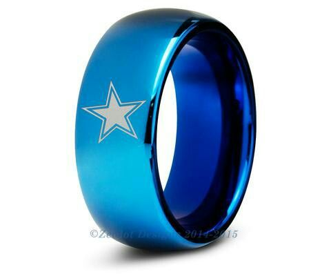 Pin By Lady T On My 1 Team Dallas Cowboys Tungsten Wedding Bands