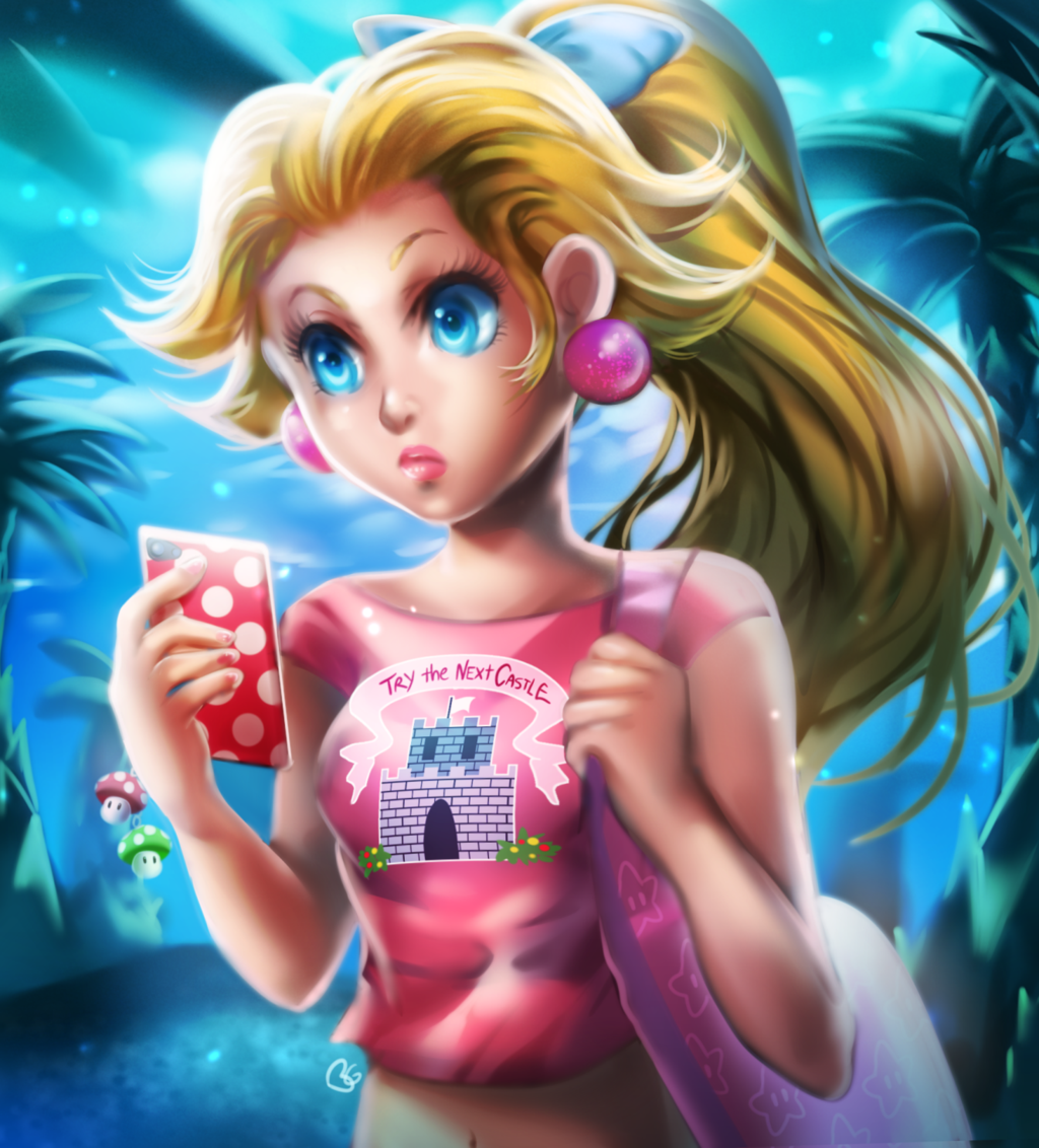 Casual Peach by on
