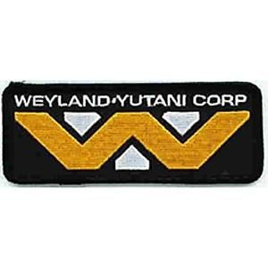 ALIEN Science-Fiction Horror Movie Weyland-Yutani Corporation Logo Navy Patch