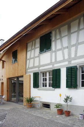 Werkliste Bauernhaus Aussenbereich Bauernhaus Fenster Und Anbau Haus