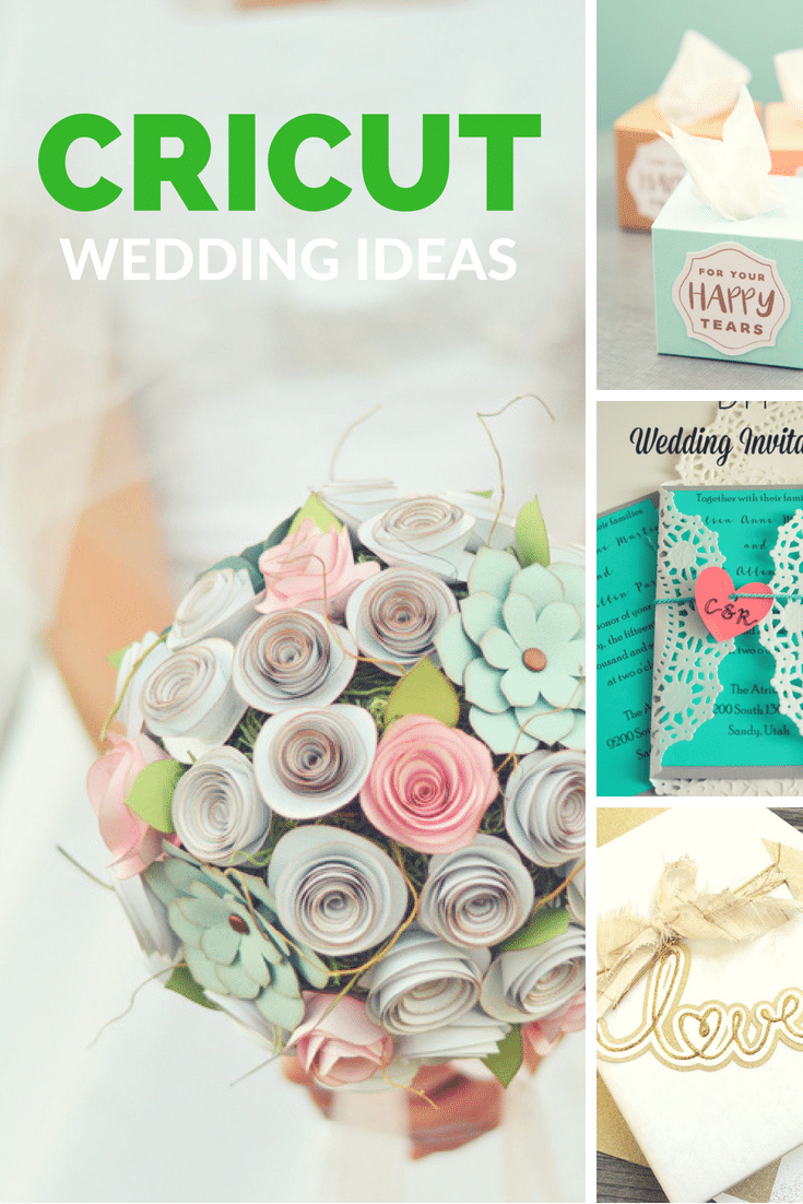 Cricut Projects Diy Wedding Ideas Via Clarkscondensed
